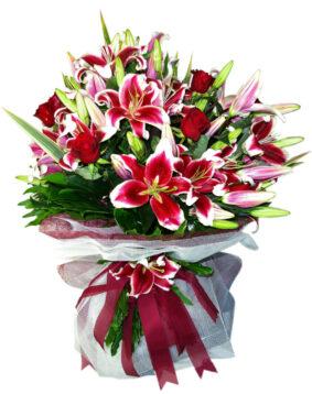 Large bouquet with lilium